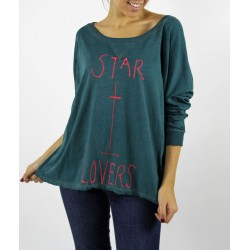 CAMISETA ALGODÓN STAR LOVE
